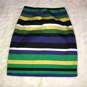 ✨ Worthington P Pencil Skirt Multicolored Stripes